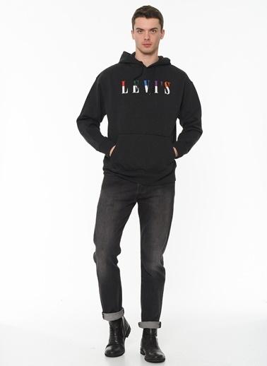 Levi's® Erkek Hoodie Relaxed Graphic 38479-0010 Siyah